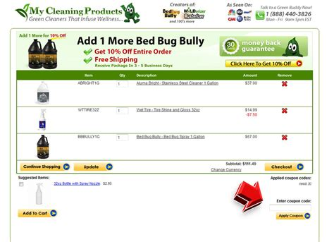 bed bug supply coupon my cleaning products coupon coupon code