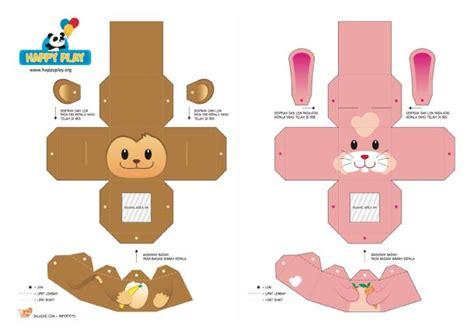How To Make A Origami Finger Puppet - 20 finger puppet papertoys toys happy and pictures
