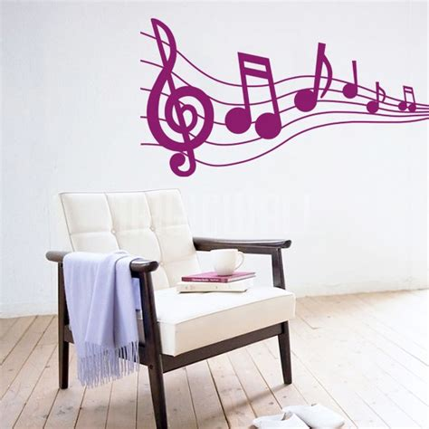 musical note wall stickers wall stickers musical notes wall decals canada