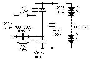 led dioda na 220 led diode na 220v 28 images skema lu led 220 volts 171 buayabusyet led 220v volt t 233 ma