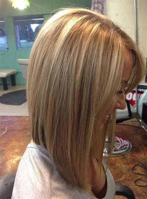 360 degree of a concave bob hairstyle inverted bob with orange streaks short hairstyle 2013