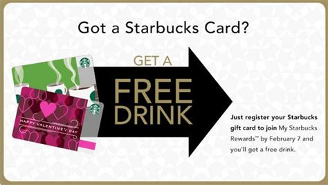 Register My Starbucks Gift Card - register your starbucks card get a free drink ends feb 7 starbucks secret menu