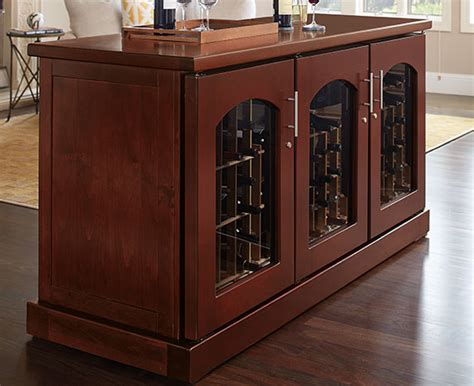 credenza cabinet wine credenza cabinets le cache premium wine cabinets