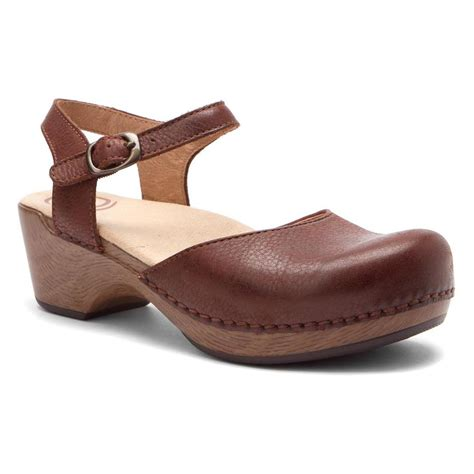 clog sandals for turnshoeson dansko s sam sandals in brown soft