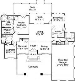 House Floor Plans Southern Cottage House Plans Alp 030w Chatham Design