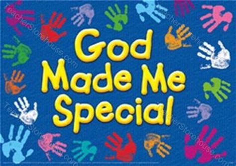 Quot God Made Me Special Quot Argus Large Poster God Made Me Special Col