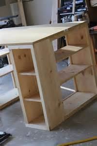 Bookcase Desk Diy Diy Bookshelf Desk Craft Room