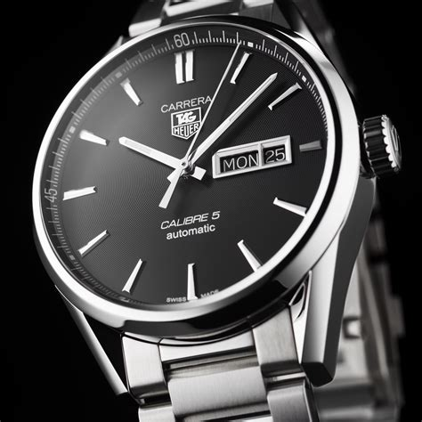 Tag Heuer Calibre 5 tag heuer calibre 5 day date automatic 41 mm