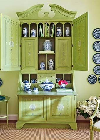 celebrate spring   multitude  green hued rooms
