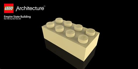 lego architecture tutorial empire state building lego architecture autodesk online