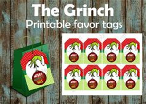 printable grinch gift tags 1000 images about a grinchmas on pinterest grinch the