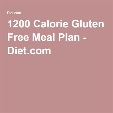 Gluten Free Detox Diet Plan by 1200 Calorie Gluten Free Meal Plan Diet Healthy