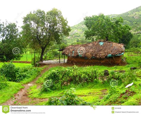 Indian Cottage by Rural Indian Cottage Royalty Free Stock Images Image