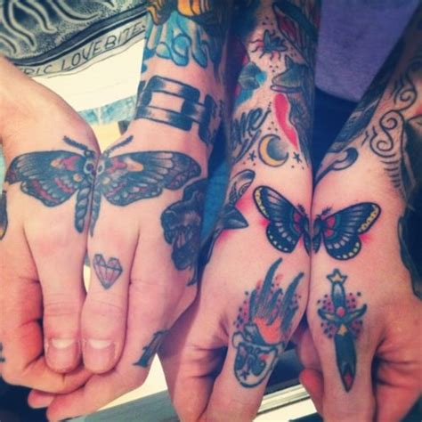 butterfly knuckle tattoo 169 most attractive butterfly tattoos 2017 collection