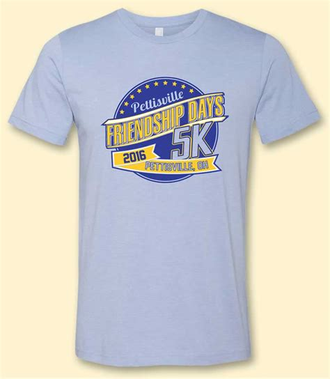Tshirt Indo Runners 5 Highclothing pettisville friendship days 5k confirmation page