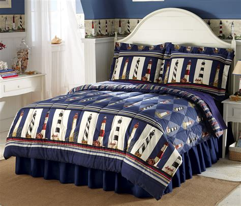 Lighthouse Comforters by Lighthouse Reversible Stripes Comforter Bedding
