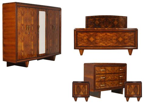 1930s bedroom furniture antique deco bedroom italian furniture set 1930s