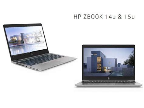 hp zbook mobile workstations hp unveils zbook 14u 15u g5 mobile workstations