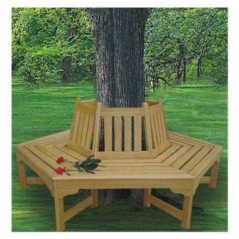 bench tree how to build a bench around a tree diy bigger projects