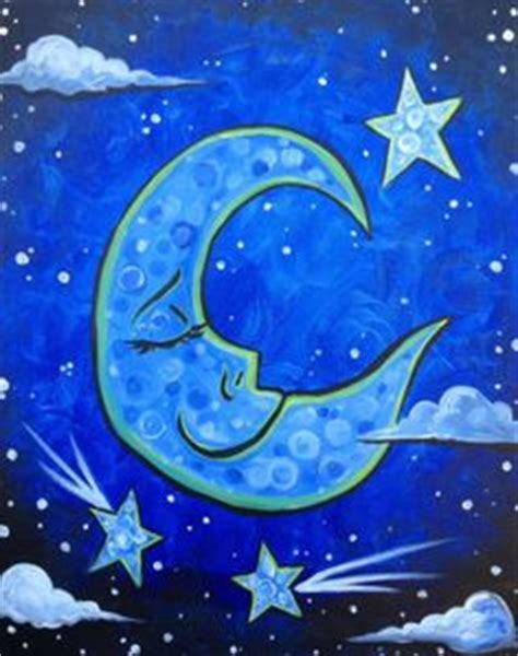 paint nite columbus paint nite on starry nights sports bars and