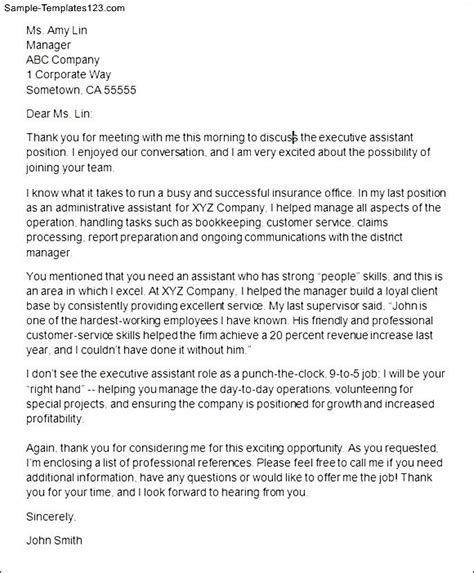 thank you letter after marketing manager cover letter templates