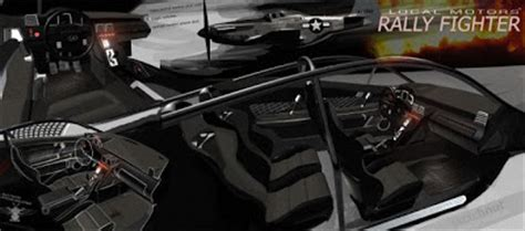 lm engineering rally fighter interior competition comes