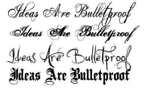 tattoo fonts joined up cursive tattoo fonts ideas cursive tattoo fonts inked