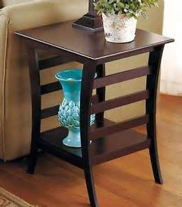 Contemporary Side Tables For Living Room Australia Contemporary Furniture Wood Accent End Side Table Walnut