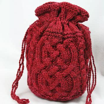 drawstring bag knitting pattern drawstring knitting project bag new knittng patterns