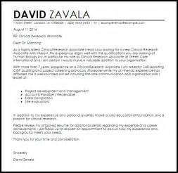 Resume Medical Assistant by Clinical Research Associate Cover Letter Sample Livecareer