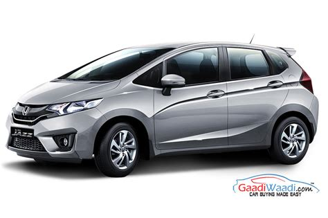 Honda Jazz Rs At Silver 2015 2015 honda jazz launched in india priced at 5 30 lakhs