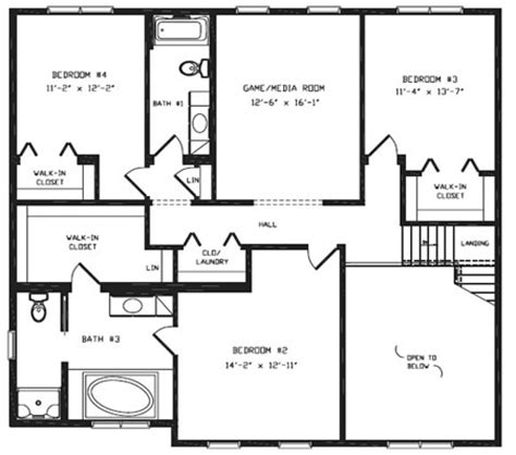 hallmark homes floor plans t376344 1 by hallmark homes two story floorplan