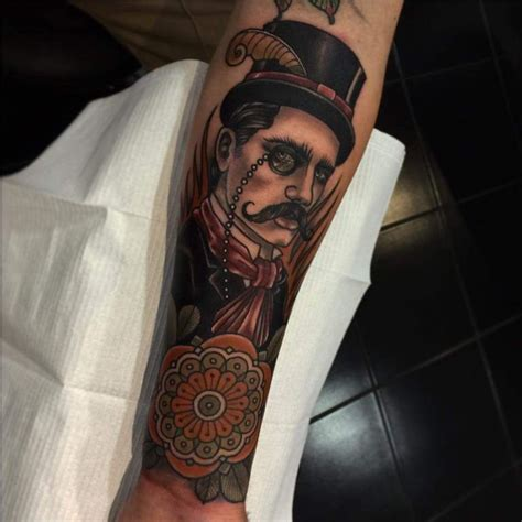 gentlemans tattoo 17 best images about top hat on