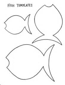 Fish Template Cut Out by Fish Outline Cut Out Template Pictures To Pin On
