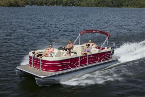 sylvan pontoon boats mirage cruise sylvan marine