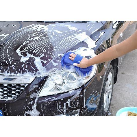 Pembersih Kaca Microfiber Pembersih Kaca Mobil Blue