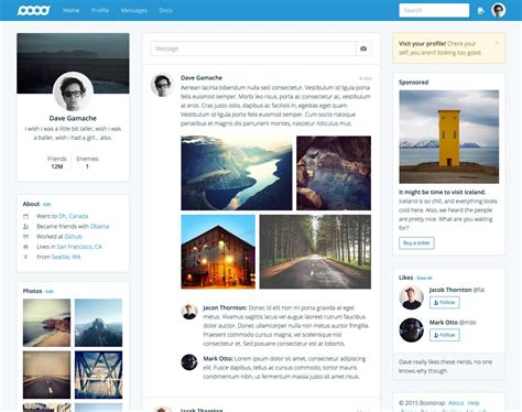 get bootstrap themes free all bootstrap themes