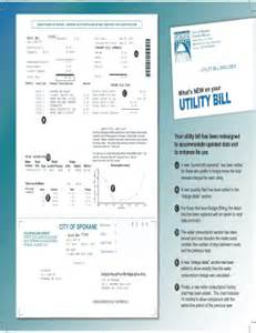 Free Utility Bill Template by Utility Bill Fill Printable Fillable