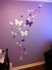 butterfly wall stickers beautiful room theme idea cute bedroom decal mural ideas for teen