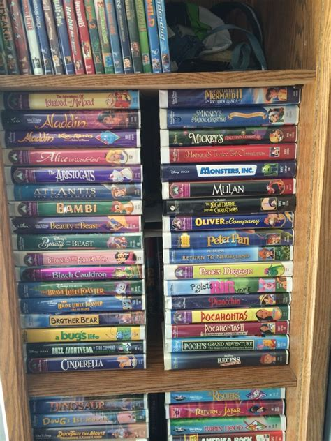 Or Vhs Seand1231 My Disney Vhs Collection Anyone Wanna Help Me