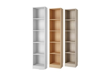 Narrow Brown Bookcase Narrow Bookcases Minimalist Yvotube