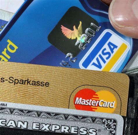 kreditkarte firma einzelhandel kf gegen das kreditkarten kartell welt