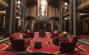 Interior Decorator App talking hotel cortez with american horror story s set