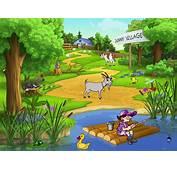 Village Cartoon Wallpapers  WallpapersIn4knet