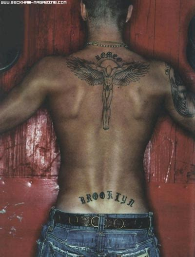 tattoos david beckham
