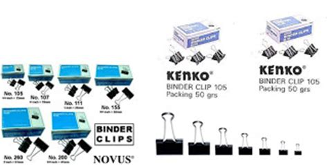 Binder Clip Kenko No 107 12 Pc Box karunia stationery list harga