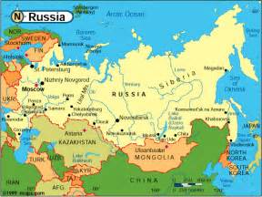Map Of Usa And Russia by Russia Georgia War How America Has Lost Its World