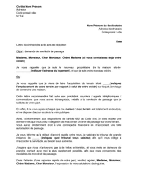 Exemple Lettre Mise En Demeure Voisin Exemple Mise En Demeure Voisin Document