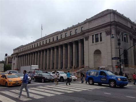 New York Post Office by New York Midtown Buildings Manhattan Architecture E