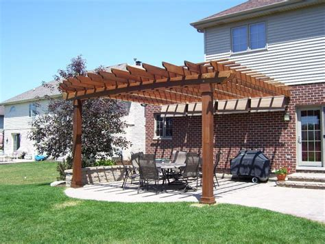 pergola sun shade outdoor spa ideas pergola retractable sun shade diy